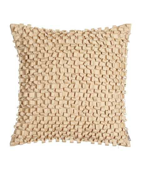 Ribbon Square Pillow