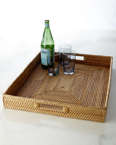 Aerin for Lenox Large Wicker Tray