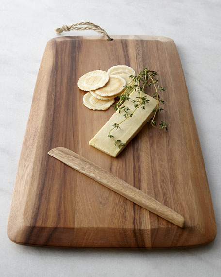 Cutting Board with Server
