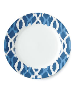 Aerin for Lenox Deep Sea Ikat Dinner Plate