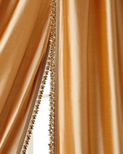 "Each 108""L Silk Curtain"