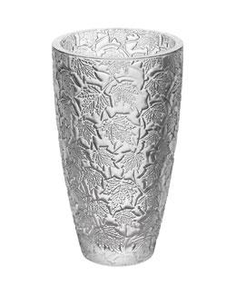 Lalique Large Feuillage Vase