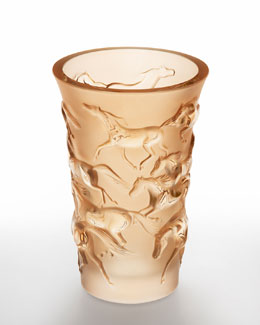 Lalique Mustang Vase