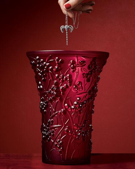Baies Red Vase