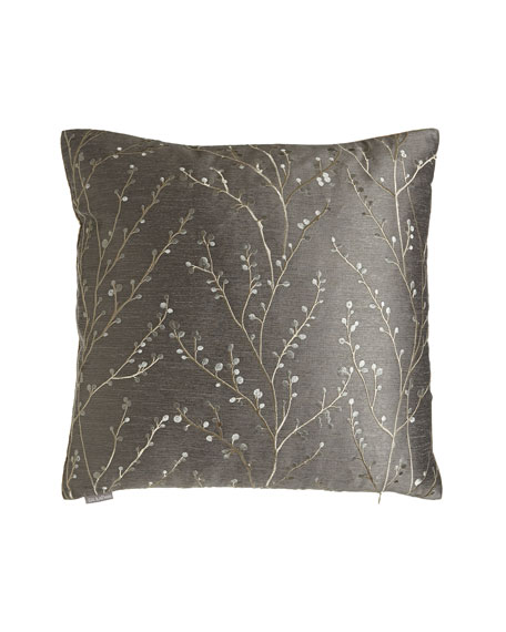 Catelyn Pewter Pillow