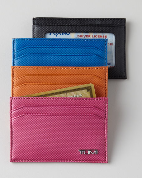 Prism Leather Card Case