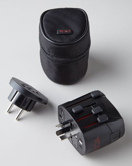 Tumi Electric Grounded Adapter
