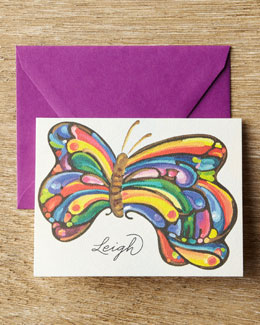 KELLY KAY 25 Butterfly Folded Notes