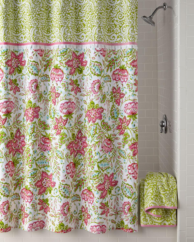 Dena Home Dena Floral Ikat Shower Curtain
