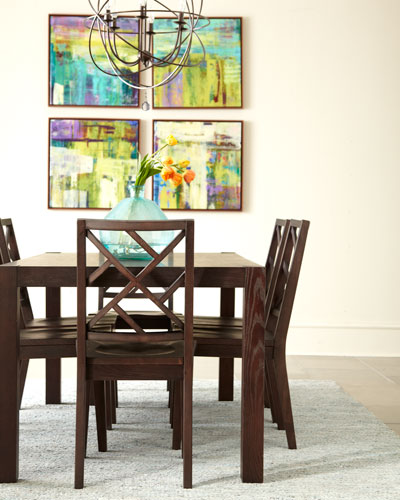 Karington Espresso Dining Set