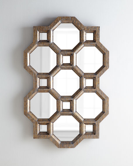 Carrara Honeycomb Mirror