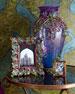 Grand Peacock Vase