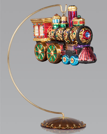 Train Christmas Ornament