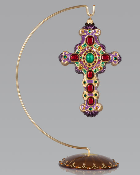 Cross Christmas Ornament