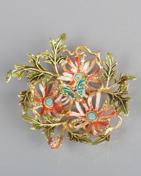 Chrysanthemum Trinket Tray