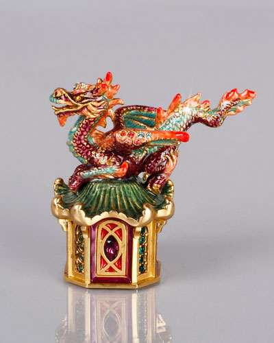 Jay Strongwater Dragon Box