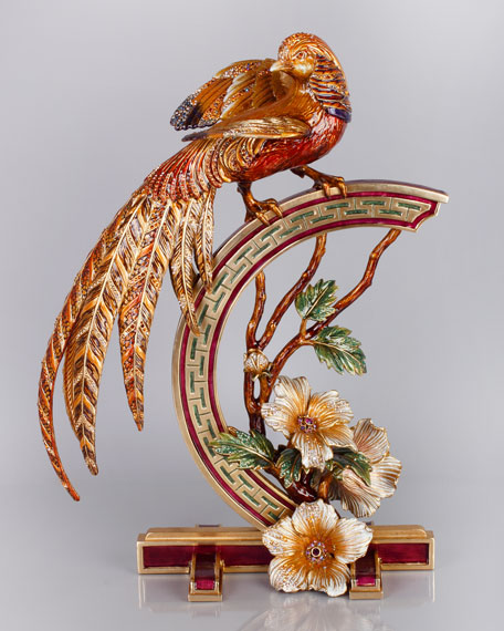 Golden Pheasant Figurine