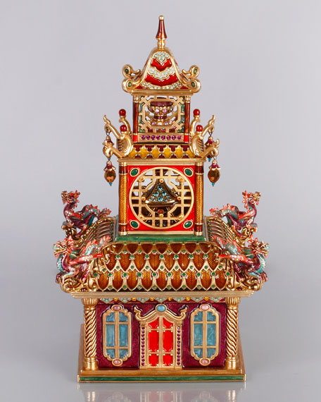 Large Triple Pagoda Box