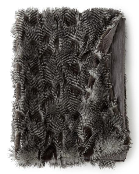 Anastasia Faux-Fur Throw