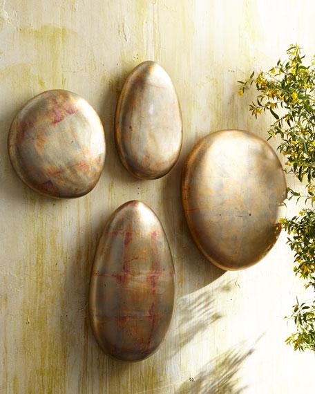 """Large Round Patina """"Stone"""""""