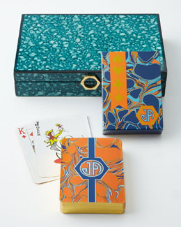 Jonathan Adler Toulouse Playing Card Set
