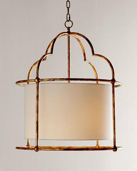 Daniella Golden Two-Light Pendant