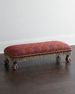 MacKenzie-Childs Hearth Bench