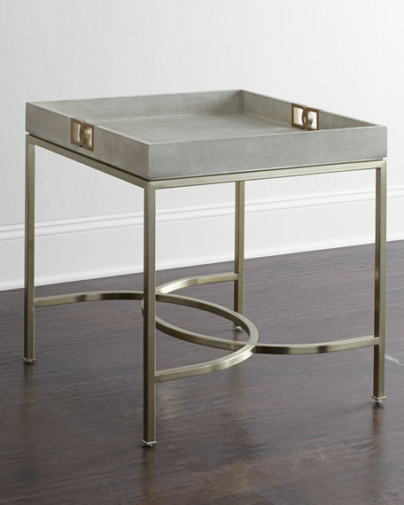 Bernhardt olita tray side table neiman marcus for Tray side table