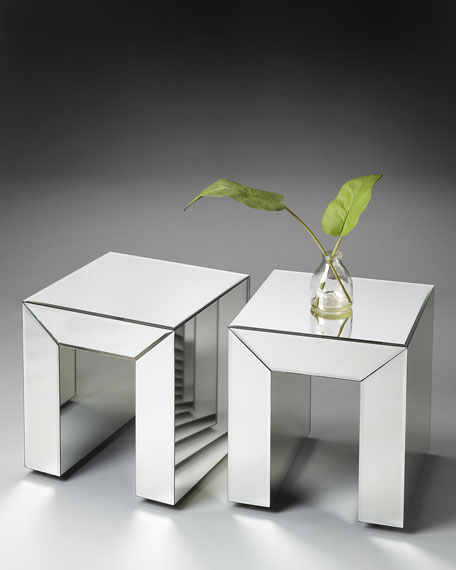 Mirrored Bunching Table