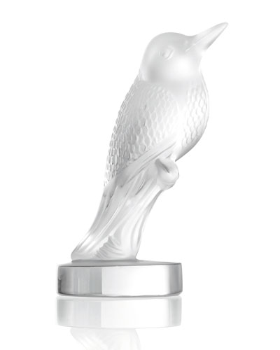Lalique Hummingbird Figure