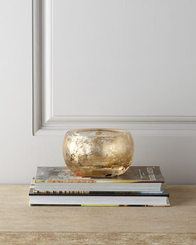 AERIN Small Gold-Flecked Bowl