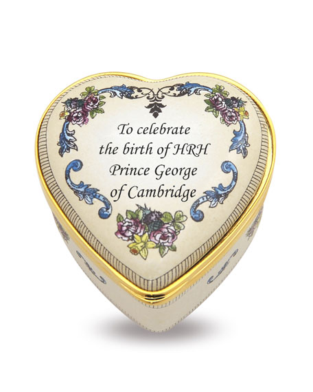 The Royal Birth Heart Box