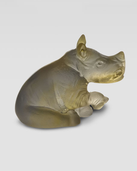 Mini Rhinoceros Figurine