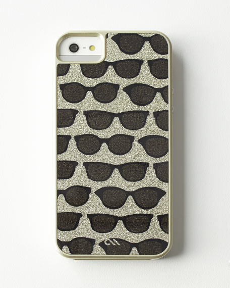 Glam Print Sunglasses iPhone 5/5s Case