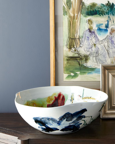 John-Richard Collection Large Curled-Rim Bowl