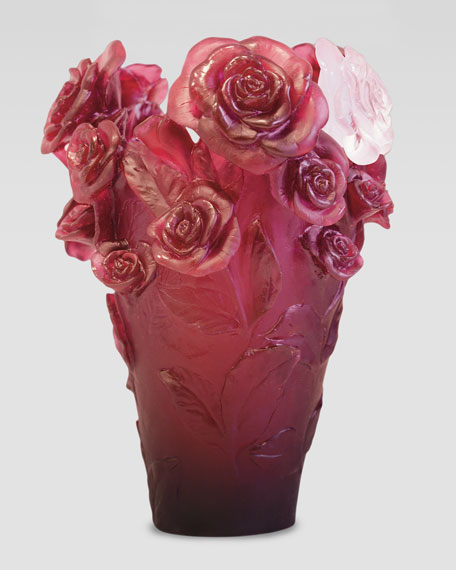 Red Rose Passion Vase
