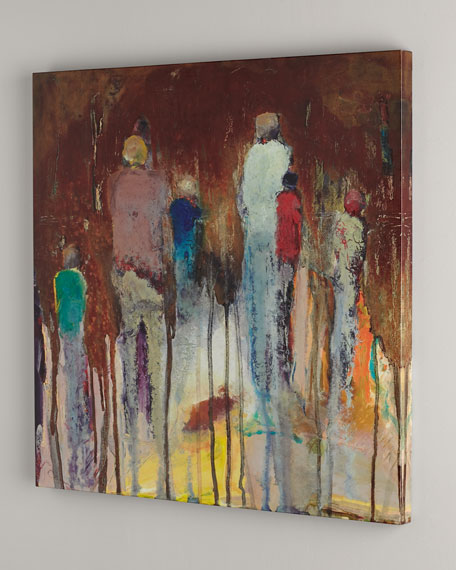 """""""Family Reunion"""" Abstract Giclee"""