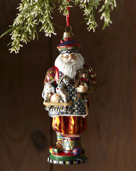 Mackenzie childs toymaker christmas ornament for Neiman marcus christmas cards