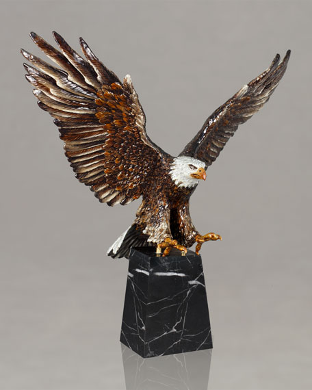 Jay Strongwater Washington Grand Eagle Figurine