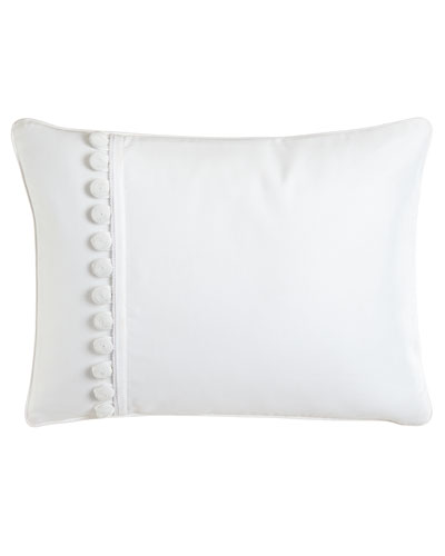 """Pillow with Buttons, 12"""" x 16"""""""