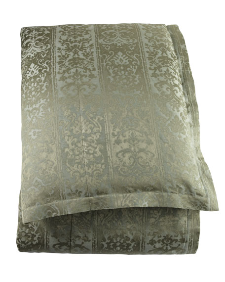 legacy home queen damask duvet cover 90 x 96. Black Bedroom Furniture Sets. Home Design Ideas