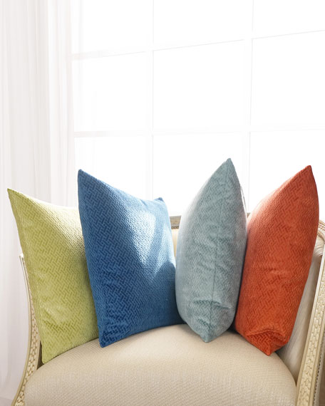 D.V. Kap Home Azure Maze Pillow