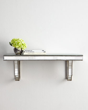 Cattaneo Mirrored Shelf