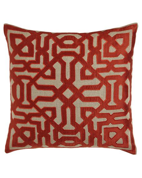 Marrakesh Maze Pillow