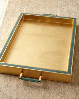 AERIN Jade Rectangular Tray