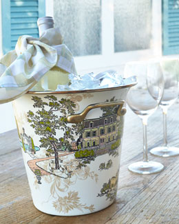 MacKenzie-Childs Aurora Wine Cooler