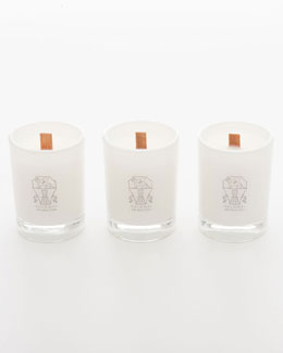 Brunello Cucinelli Glass Votive Set