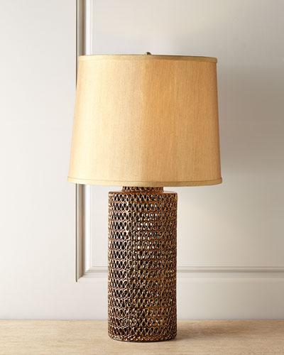 Adelphius Pierced Lamp