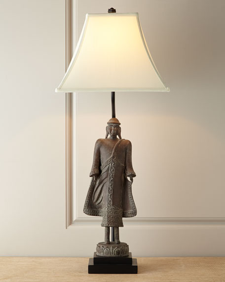 Mongolia Resin/Steel Lamp