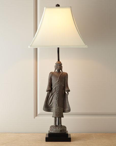 Mongolia Resin/Steel Lamp
